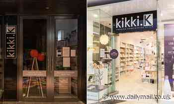 Stationery giant kikki.K is SAVED at the last minute after collapsing into administration