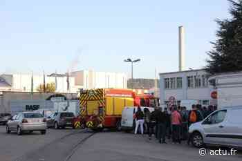 Saint-Aubin-lès-Elbeuf. Une fuite détectée sur le site BASF - actu.fr