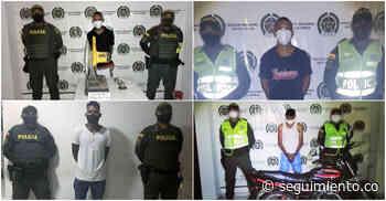 Capturan a 4 personas en hechos aislados en Fundación y Zona Bananera - Seguimiento.co