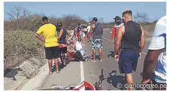 Zarumilla: Un muerto y un herido en accidente de tránsito - Diario Correo