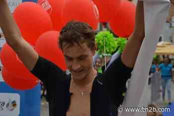 Timo Schmitz und Sigrid Mutscheller gewinnen 32. Oettinger Triathlon - tri2b