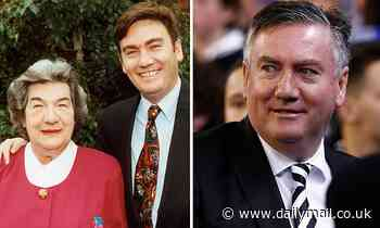 Eddie McGuire is in mourning after his mother, Bridie, passed away