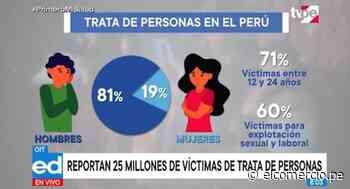 Lima, Ancash, Cusco y Puno registran mayor índice de casos de tráfico de personas - El Comercio Perú