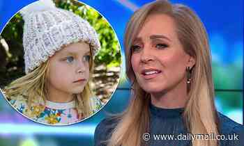 Carrie Bickmore's daughter Evie shares a sweet message to Victorians amid COVID-19 lockdown