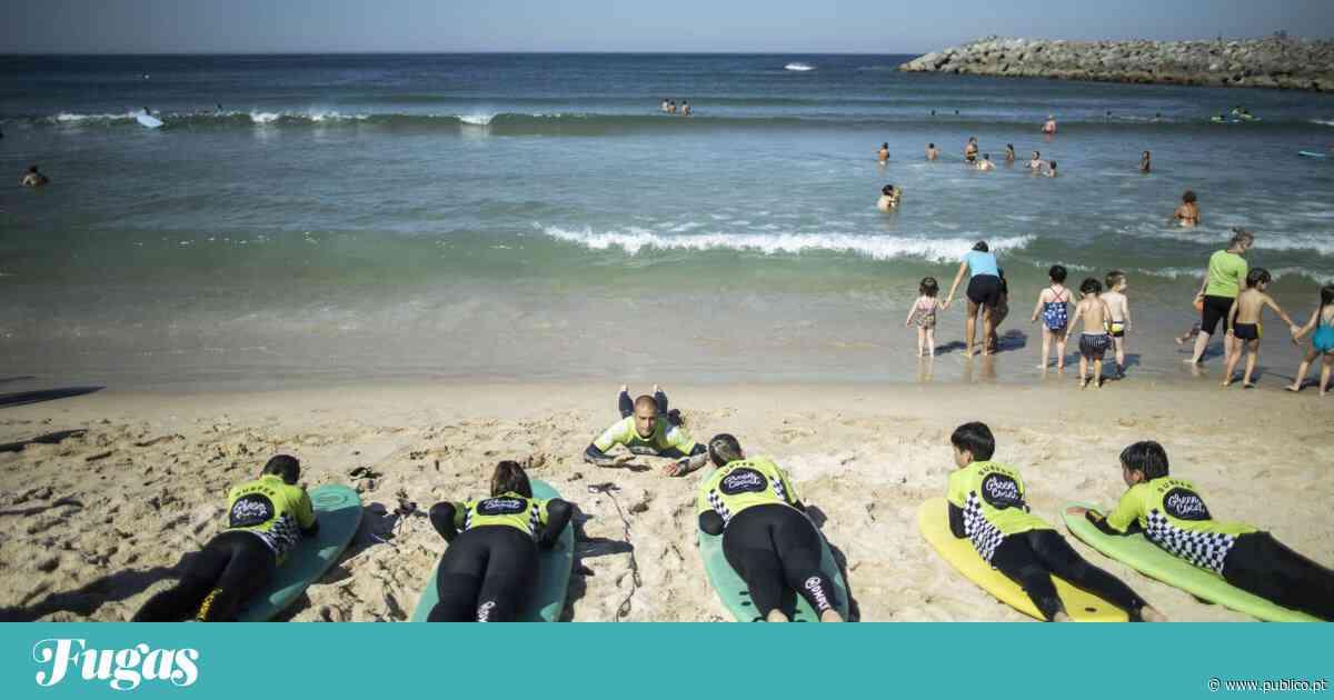 """Espinho, entre ondas de """"surf"""" e lagoas de sonho - PÚBLICO"""
