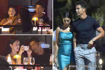 Cristiano Ronaldo and Georgina Rodriguez enjoy romantic dinner with pals in Italian fishing village of - The Sun
