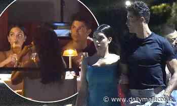Cristiano Ronaldo and Georgina Rodriguez enjoy Portofino trip - Daily Mail