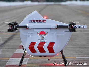 Drone Delivery Canada deploys drones to serve Georgina Island First Nation - STAT Times