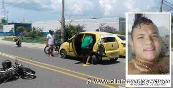 Muere sujeto en accidente de tránsito en la Troncal del Caribe - El Informador - Santa Marta