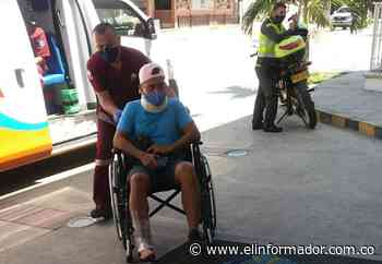 Moto embistió a ciclista en la Troncal del Caribe - El Informador - Santa Marta