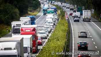 Autobahn 44 ab Soest-Ost wegen Schäden an der Fahrbahn teilweise gesperrt - Soester Anzeiger