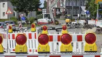 Ende der Umleitung: Verkehr am Kreisverkehr am Bahnhof in Soest soll bald wieder fließen - soester-anzeiger.de