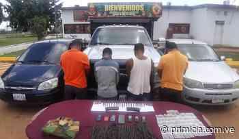 GNB incauta droga y municiones de guerra en El Callao - Diario Primicia - primicia.com.ve
