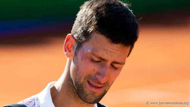 Novak Djokovic: 'I cried a lot when I was a kid'