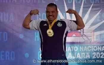 Le cancelan a Rubén evento norteamericano de powerlifting - El Heraldo de Chihuahua