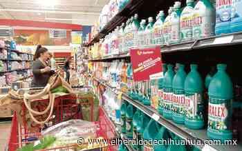 Aumenta el gasto en productos de limpieza - El Heraldo de Chihuahua