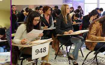 Difunde UACH protocolo COVID 19 durante examen CENEVAL - El Heraldo de Chihuahua