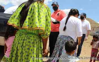 Entregan Municipio y Club Rotario Chihuahua más de 12 mil platillos a población Rarámuri - El Heraldo de Chihuahua