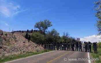 Guardia Nacional monta operativo para evitar paso de la caravana en Chihuahua - Milenio