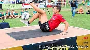 Donaueschingen: Akrobatik-Weltrekord im Sportpark - Donaueschingen - Schwarzwälder Bote
