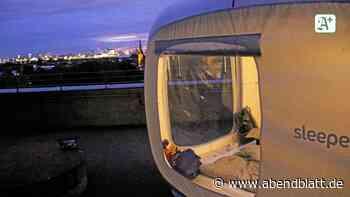 Urlaub vor der Haustür: Nachts allein auf dem Bunker – mit der Stadt zu Füßen