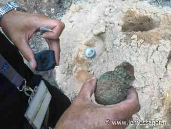 Annecy : les démineurs font exploser une grenade découverte dans le lac - Le Messager