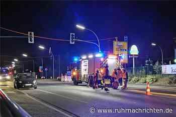 Kilometerlange Ölspur: Feuerwehr Werne muss Sonntagnacht ausrücken - Ruhr Nachrichten