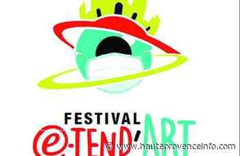"""Manosque : La 4e édition du festival """" Étend' Art """" se déroulera le 8 août - Haute-Provence Info"""