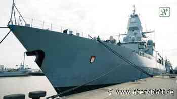 """Verteidigung: Fregatte """"Hamburg"""" zum Einsatz vor Libyen ausgelaufen"""