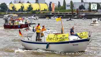Hamburg: Dove Elbe: Die Protestaktionen gehen weiter
