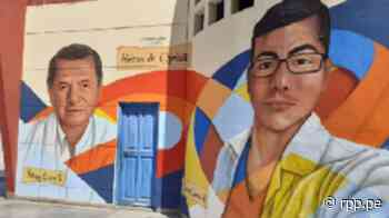 Héroes eternos: Pintan murales en Chimbote con los rostros de los médicos fallecidos por la COVID-19 - RPP Noticias