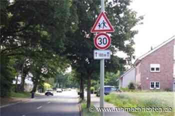 Tempo-30-Schild am Hellweg wurde zum Schutz von Kindern aufgestellt - Ruhr Nachrichten