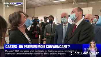 Jean Castex visite une usine de masques à Roubaix, pour promouvoir la production française - Actu Orange