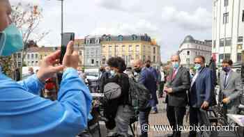 Roubaix: l'autre visage de la visite du Premier ministre dans une ville masquée - La Voix du Nord