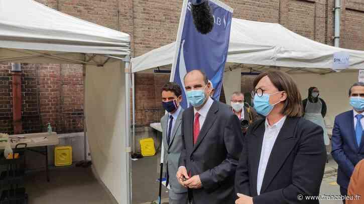 Le Premier ministre en visite à Lille et Roubaix face à la recrudescence de l'épidémie de coronavirus - France Bleu