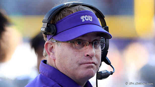 TCU Chancellor Says Football Coach Gary Patterson Has Apologized For Use Of Racial Slur