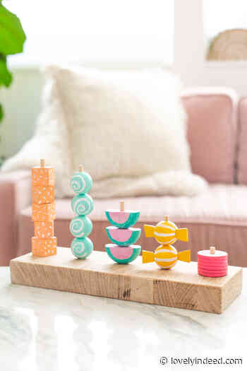 Make a Wooden Toy for Kids