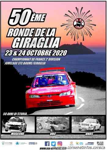Sport automobile : annulation du rallye de Corte mais maintien de la Giraglia - Corse Net Infos