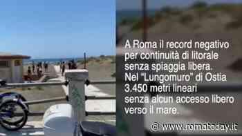 Spiagge libere, Roma tra i 10 peggiori comuni d'Italia: la denuncia video di Legambiente su Ostia