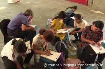 VIDÉO. Lille : un atelier BD pour enfants à la Gare Saint Sauveur - France 3 Régions