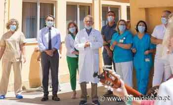 Aplausos de agradecimento na despedida Bilhota Xavier do hospital de Leiria - Jornal de Leiria