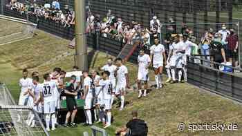 Borussia Mönchengladbach: Gladbach vor Fans im Training - Sky Sport
