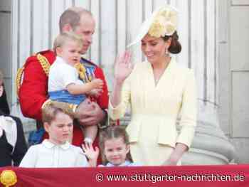 Dankeskarte der Royals - Prinz Louis: Neues Foto des jüngsten Royals - Stuttgarter Nachrichten