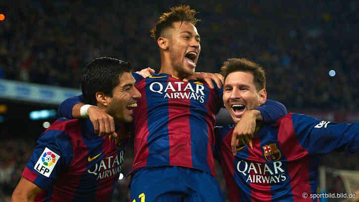 FC Barcelona: So stehen die Chancen bei Neymar - SportBILD