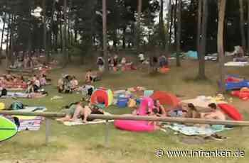 Blechlawine und dichtes Gedränge am Großen Brombachsee - Polizei: Lage durch Corona verschlimmert - inFranken.de
