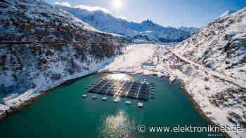 Schwimmende Photovoltaik-Anlage: Die einmalige Lage erhöht den Energiegewinn deutlich - elektroniknet.de
