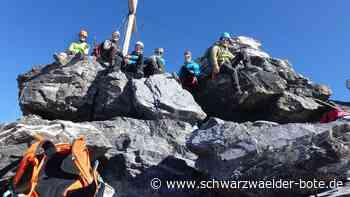 Albstadt: Sechs Ebinger Alpinisten unternahmen Hochtouren in den Urner Alpen - Albstadt - Schwarzwälder Bote