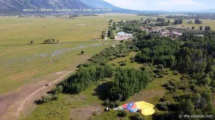 Texas Family In Group Of 36 On Hot Air Balloons That Crashed In Wyoming