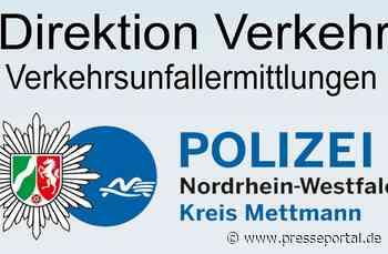 POL-ME: Verkehrsunfallfluchten aus dem Kreisgebiet - Kreis Mettmann - 2008013 - Presseportal.de