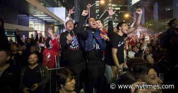 Toronto Tones Down Its Postseason Party